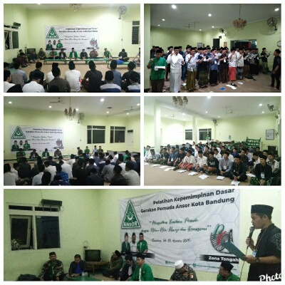 GP Ansor Kota Bandung Gelar Kaderisasi