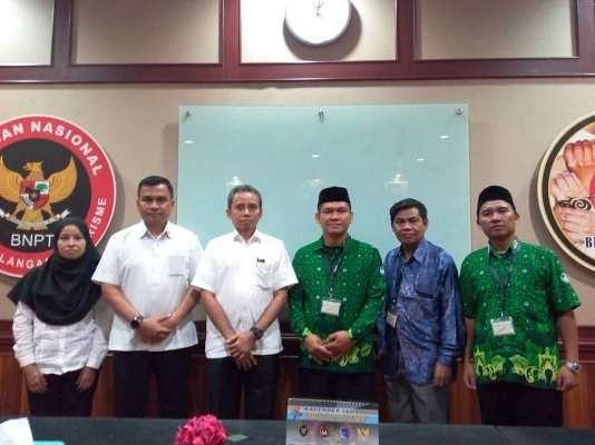 Pergunu Jabar Sambangi BNPT Tangkal Radikalisme Bagi Guru dan Siswa di Jawa Barat
