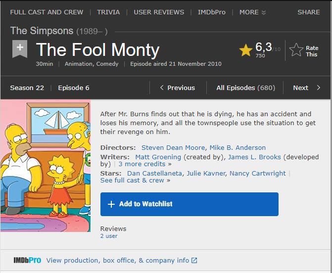 """[SALAH] """"the Simpsons 1993 memprediksi Corona virus dari China"""""""
